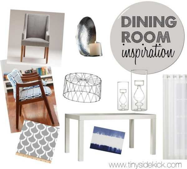 dining room moodboard