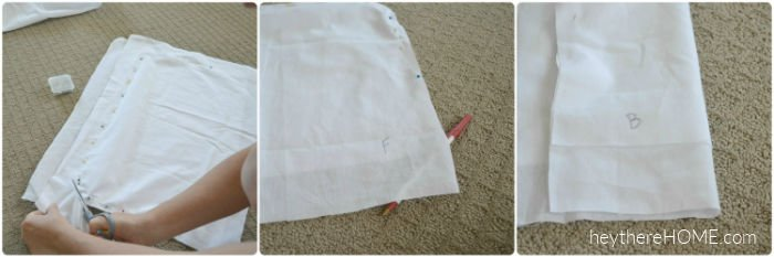 create a pattern to cover a seat cushion
