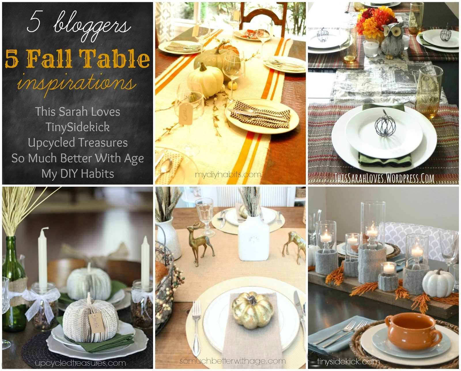 Transform your dining table into something warm and festive with these inspiring fall table ideas! #tablescape #thanksgiving #falltable #falldecor #fallideas