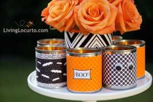 halloween party printable can covers