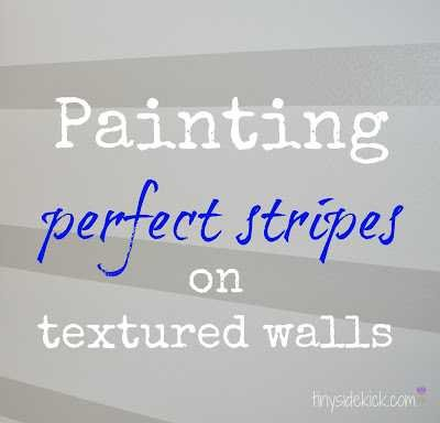 How to Paint Perfect Stripes on Walls