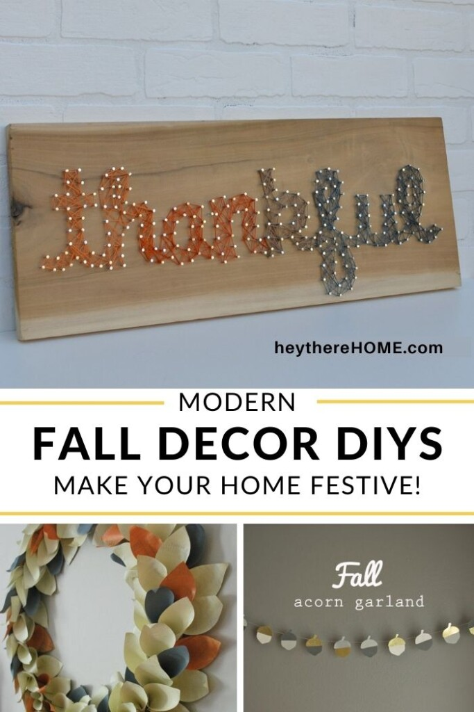 Modern Fall Decor Ideas To Decorate For The Season