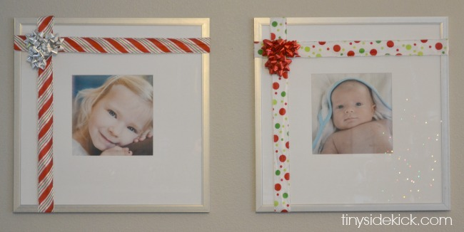 ribbon on pictures