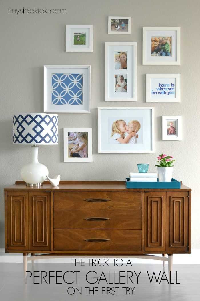 How To Hang Multiple Pictures On Wall a perfect gallery wallon the first attempt | gallery wall tips