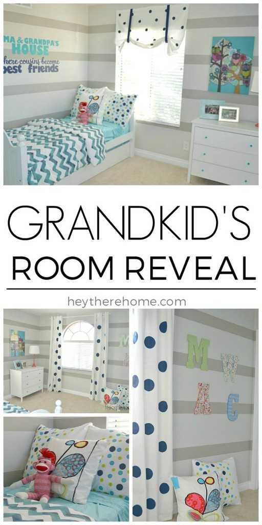 a special room for the grandkid's and grandma and grandpa's house