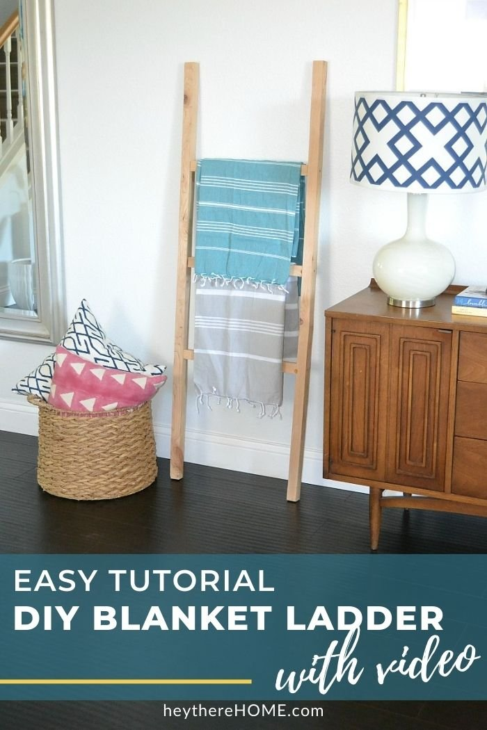 DIY Blanket ladder with video