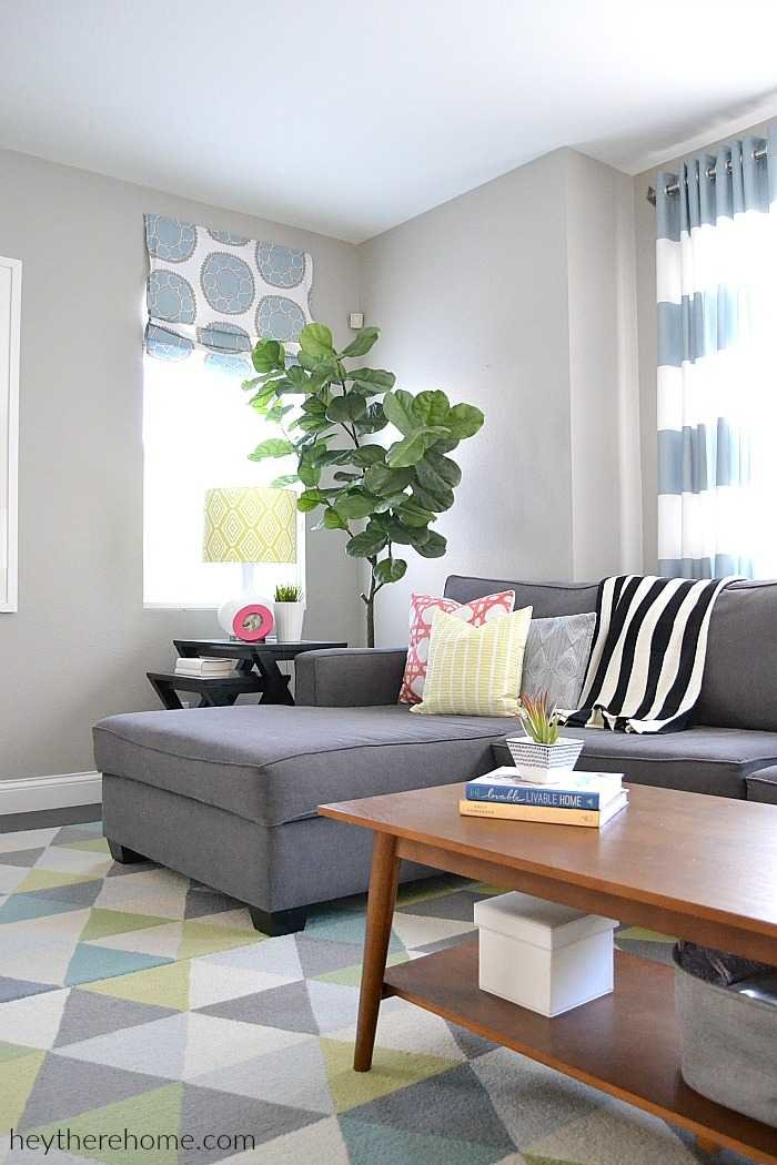 living room paint colors ideas. perfect greige paint sherwin williams requisite grey How to Create a Whole Home Color Palette