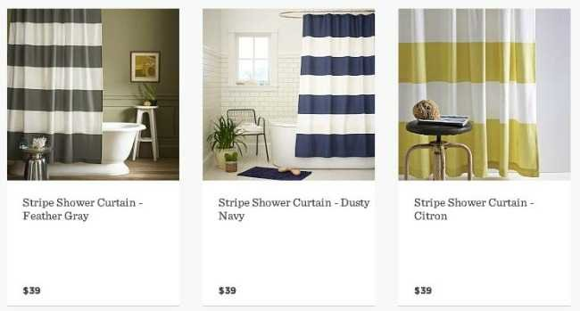 Shower Curtains crate and barrel shower curtains : DIY Grommet Top Curtains: A Crate & Barrel Knock Off