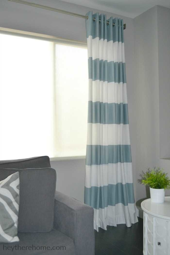 diy grommet top curtains