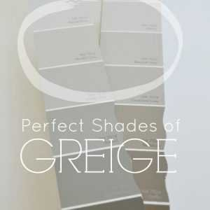how to choose the perfect greige paint color