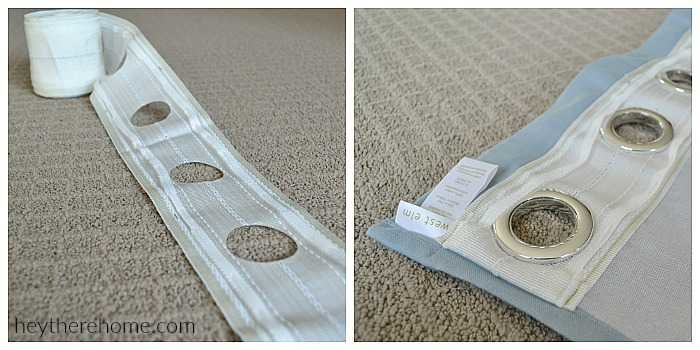 Diy Grommet Top Curtains Using Shower Curtains