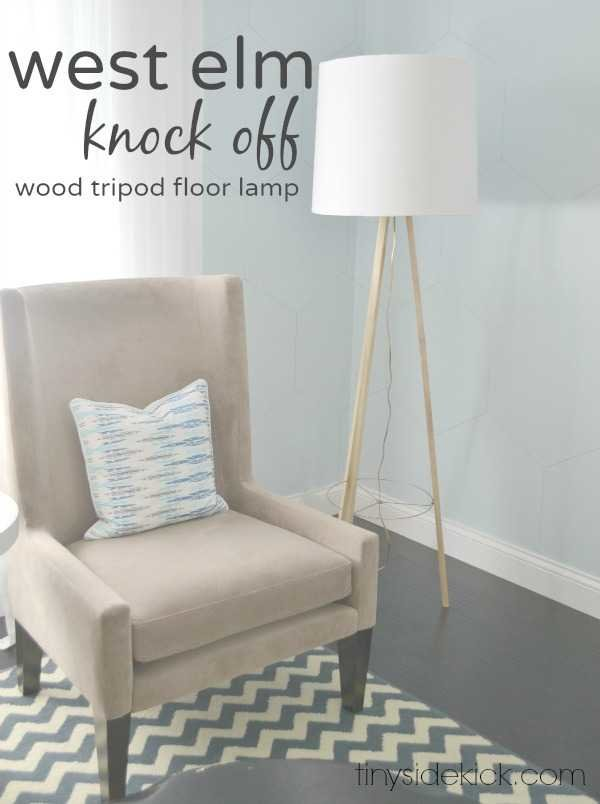 West elm inspired tripod floor lamp knock off decor series save solutioingenieria Choice Image