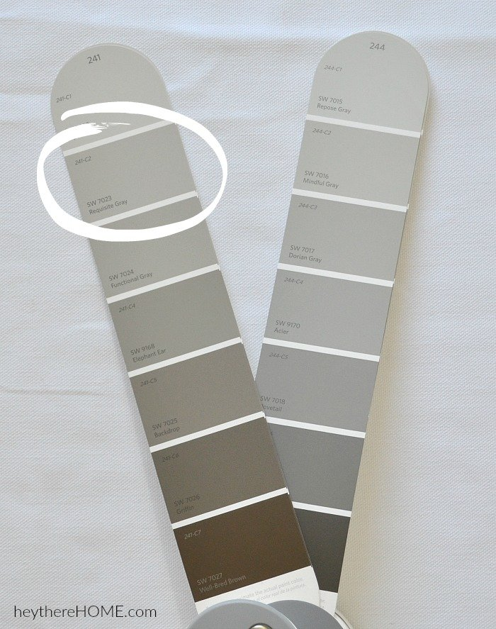 requisite grey - the perfect greige paint color