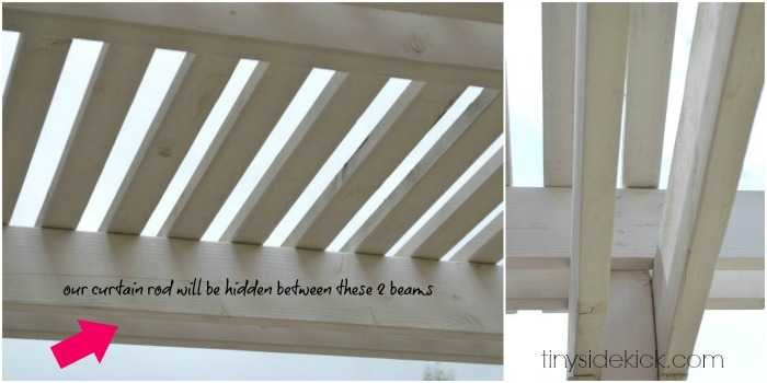 How To Make An Outdoor Curtain Rod