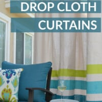 DIY outdoor curtains