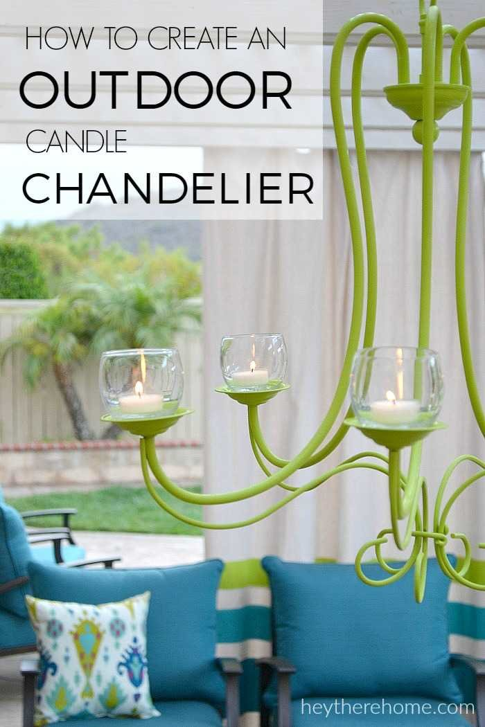 DIY Outdoor Chandelier – Outdoor Chandelier