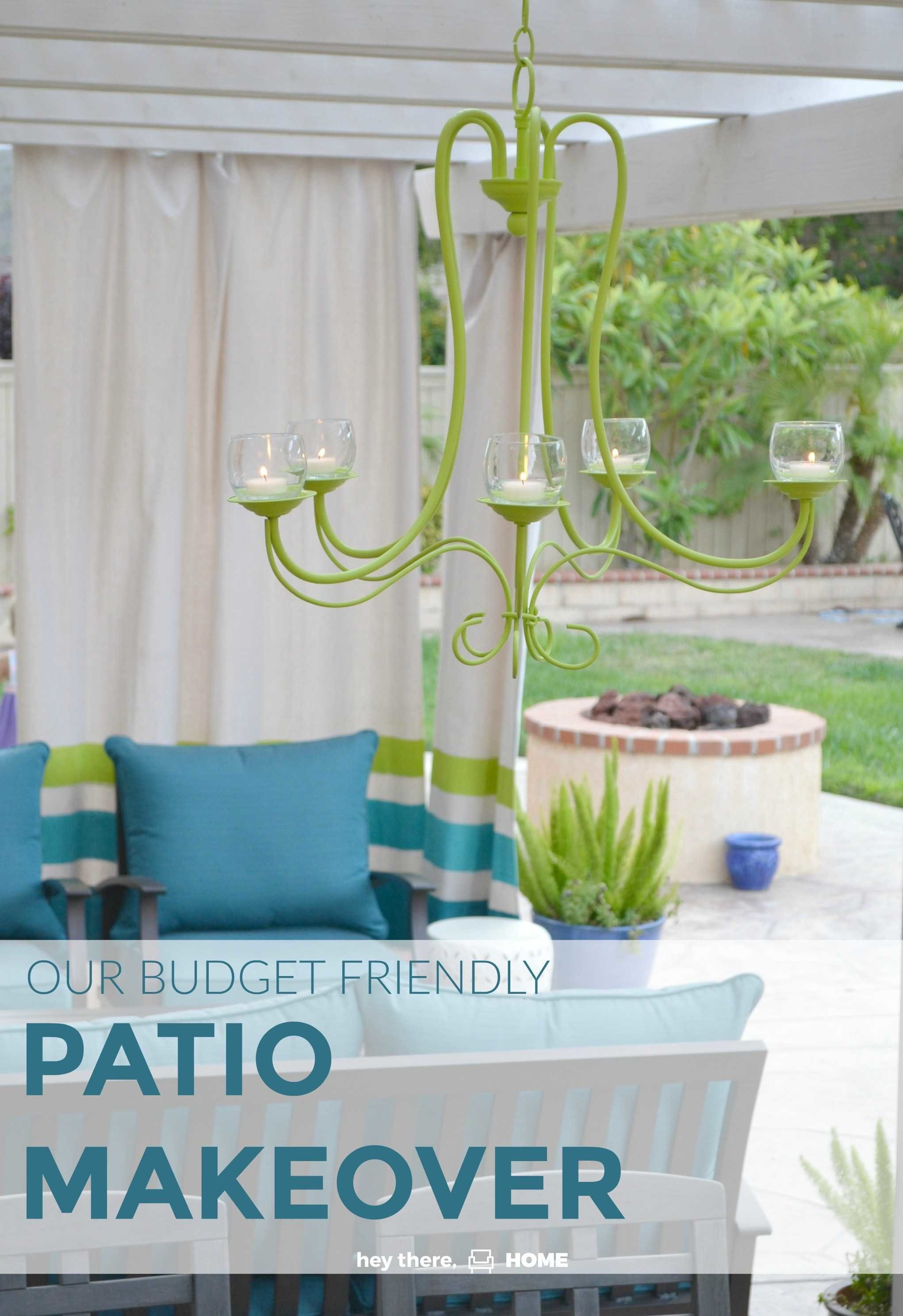 How we created an outdoor living room and dining room that has become a true extension of our home with budget friendly DIY projects. This outdoor decor is perfect for summer entertaining. #outdoorliving #outdoor #outdoorfurniture #patio #patiodesigns #outdoordiningroom #diyproject #summerstyle #outdoordecor #spring #sittingarea #entertaining #coastaldecor