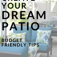 Dream Patio on a Budget