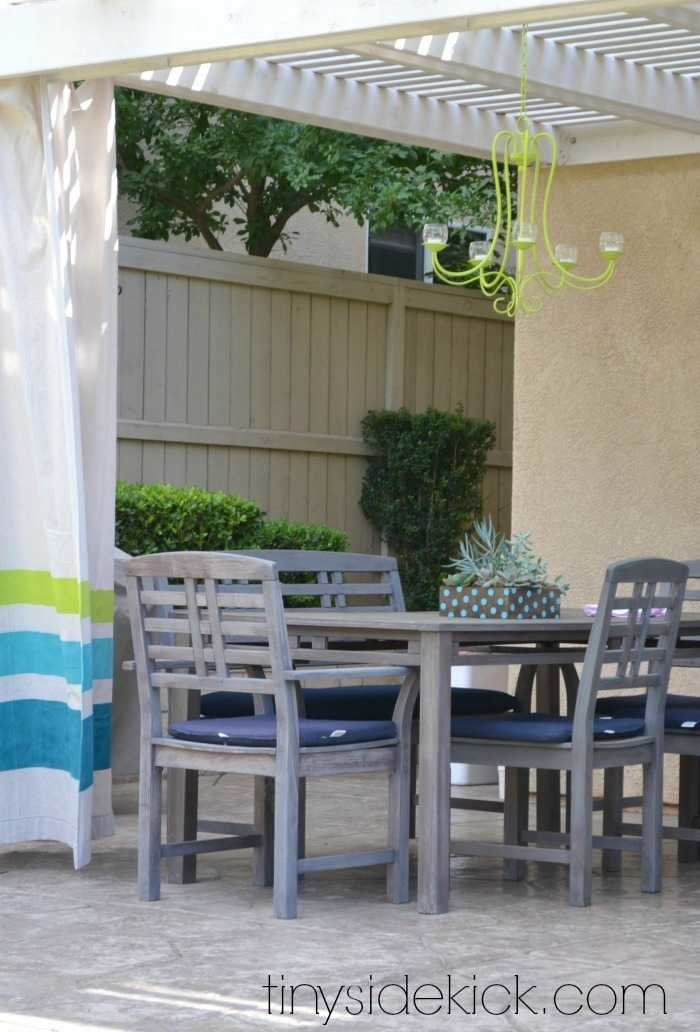 My Outdoor Living Room Reveal on Outdoor Living Space Ideas On A Budget id=72849
