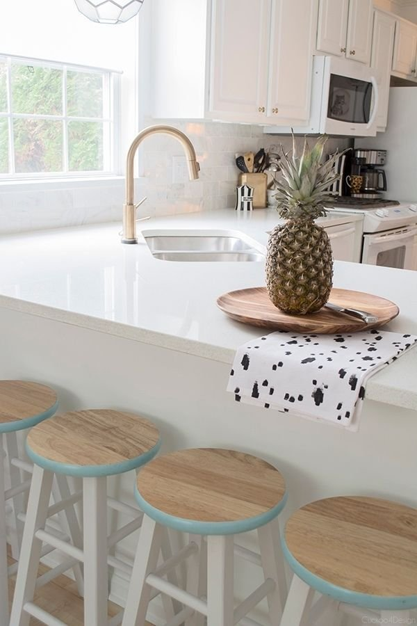 easy counter stool makeover