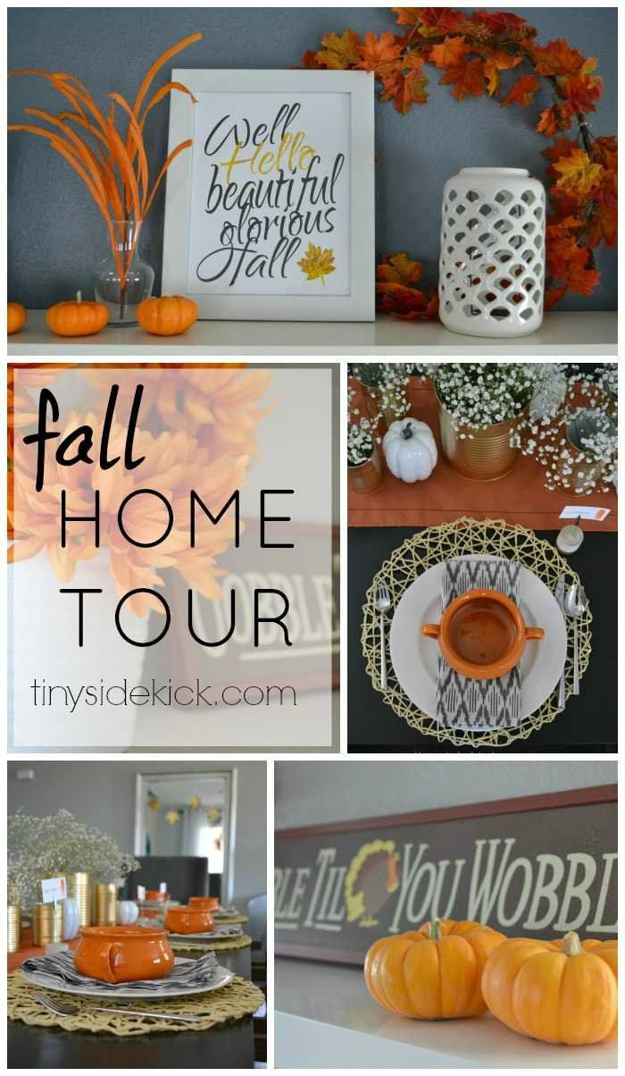 Fall Home Tour from 20 + Home Decor Bloggers