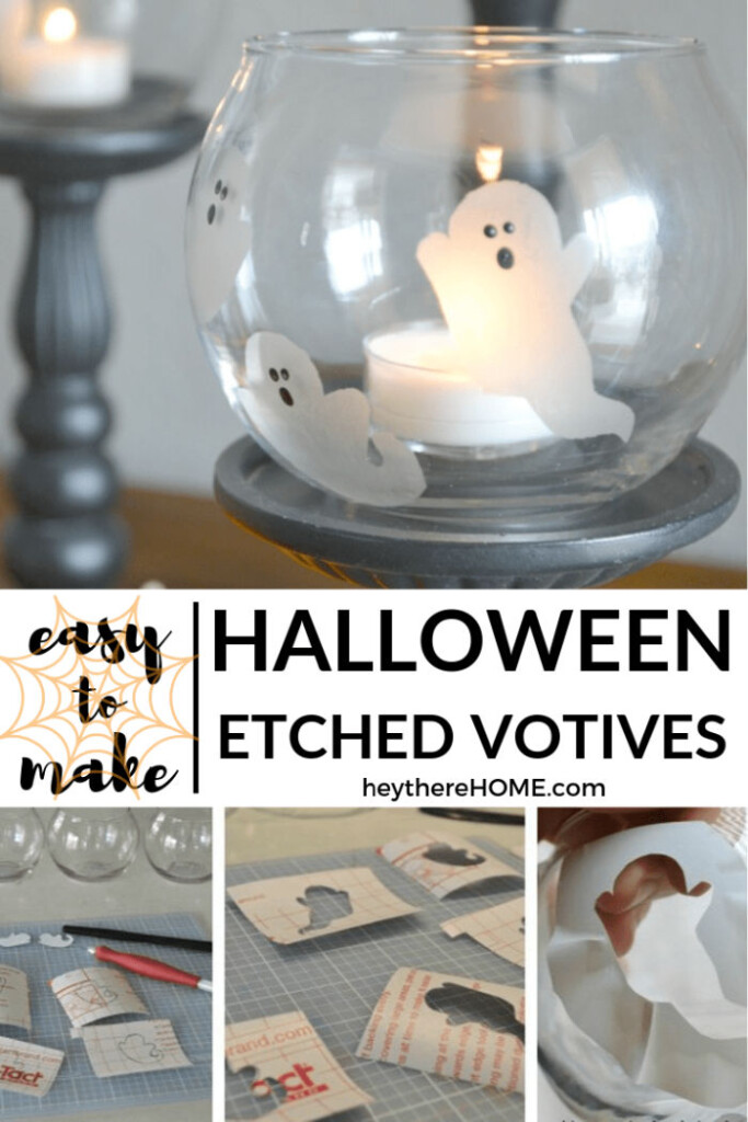 easy halloween ghost craft