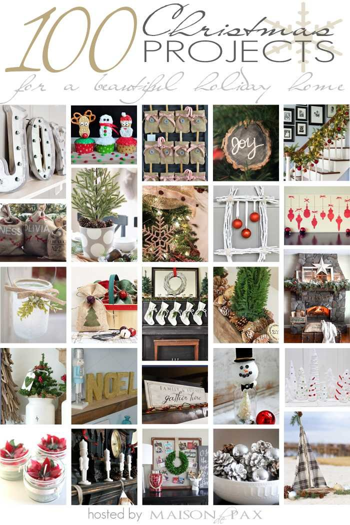 100 Christmas Ideas- So many wonderful ideas to bring Christmas into your home!
