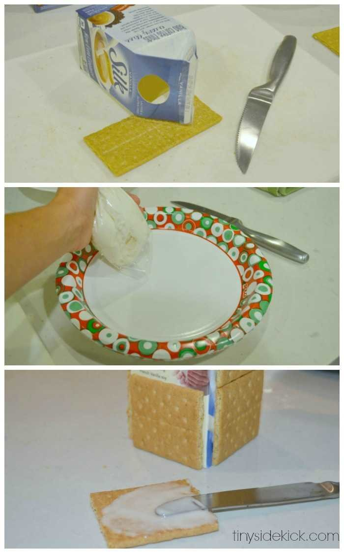 Graham Cracker Ginger Bread Houses