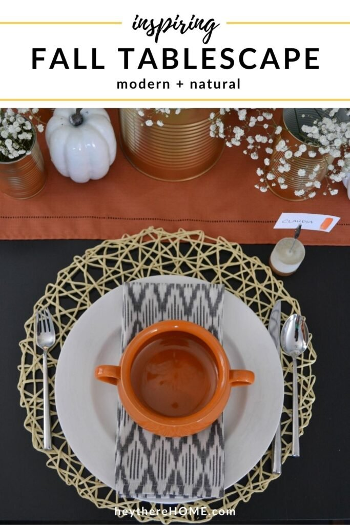 nspiring Fall Tablescape