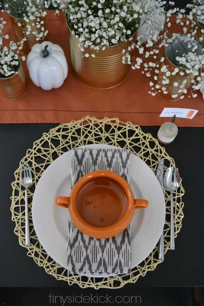 fall tablescape sources