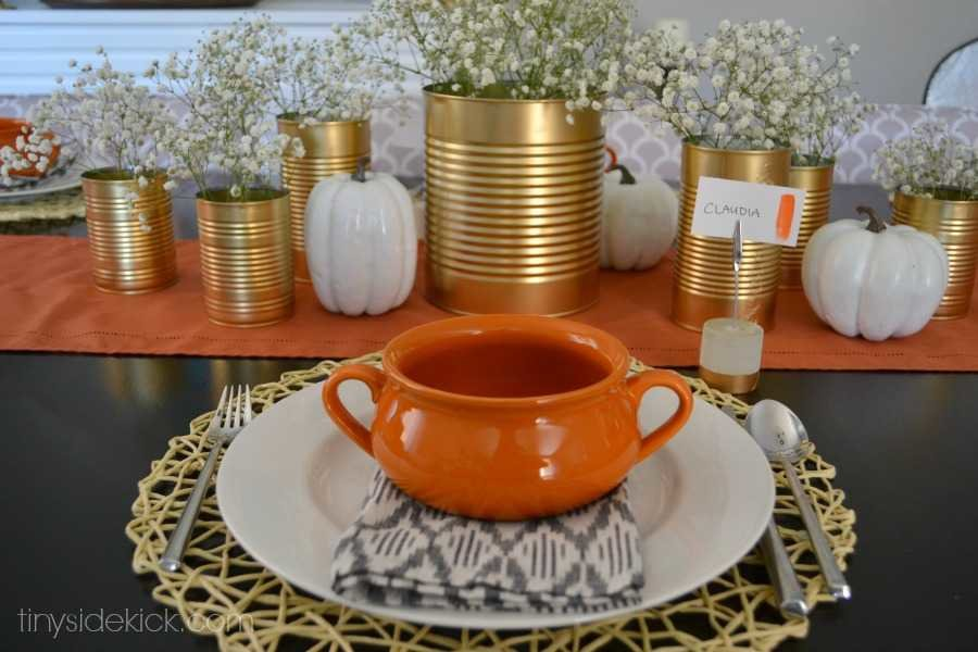 My Fall Tablescape inexpensive Simple And With A Few DIYs