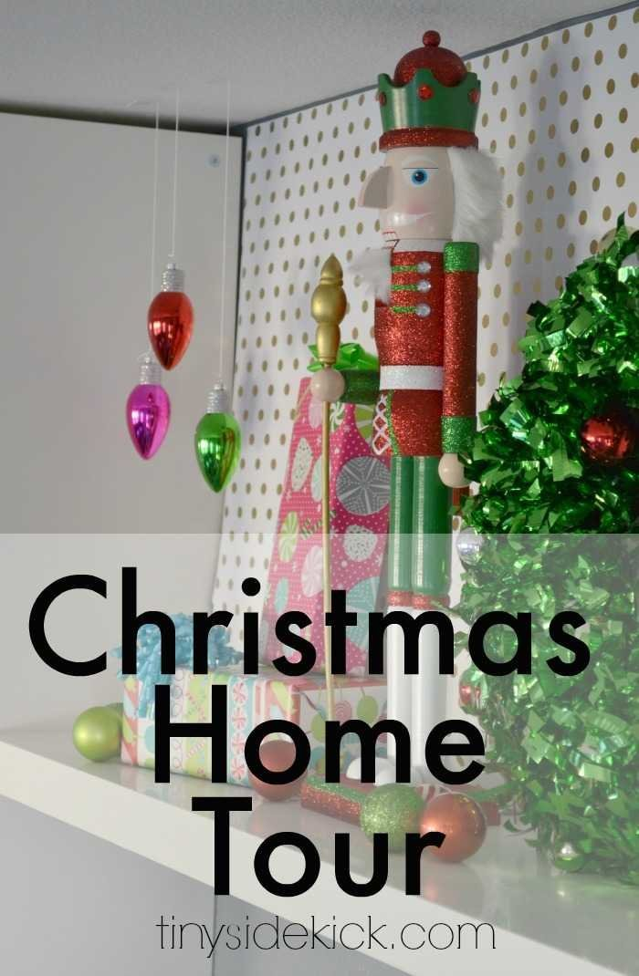 Come inside and peek at both my winter wonderland and super fun and kid friendly Christmas decorations! #Christmas #hometour #kids #decor #modern via @heytherehome.com