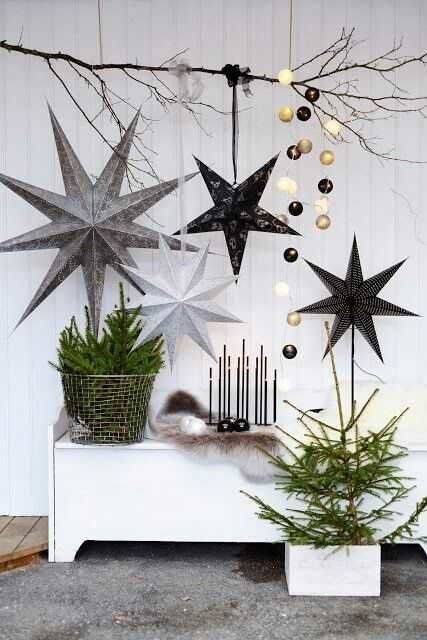 modern Christmas decor - 12 modern Christmas decorating ideas