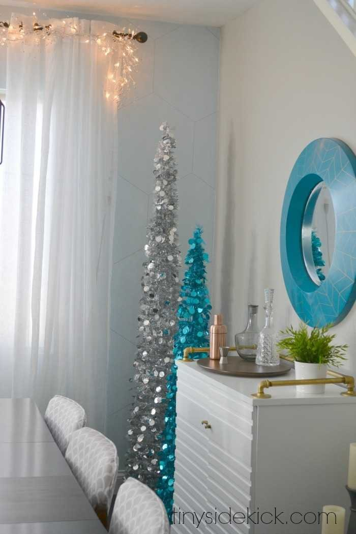 easy winter wonderland Christmas theme