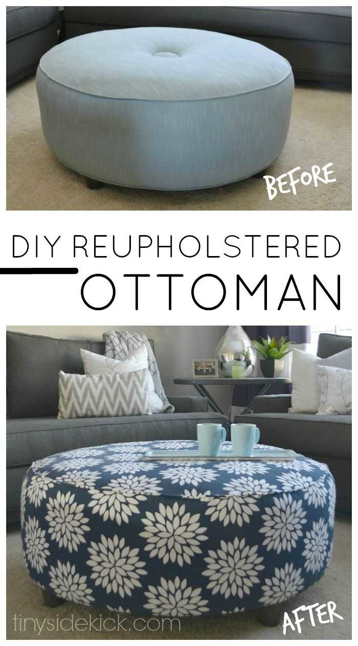 Pleasant How To Reupholster An Ottoman Gmtry Best Dining Table And Chair Ideas Images Gmtryco