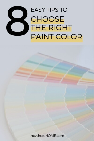 8 easy tips to choose right paint