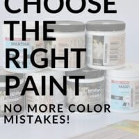 Choose the right paint