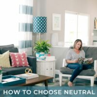 How to Choose Neutral Wall Colors