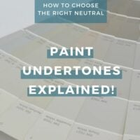 Paint Undertones Explained