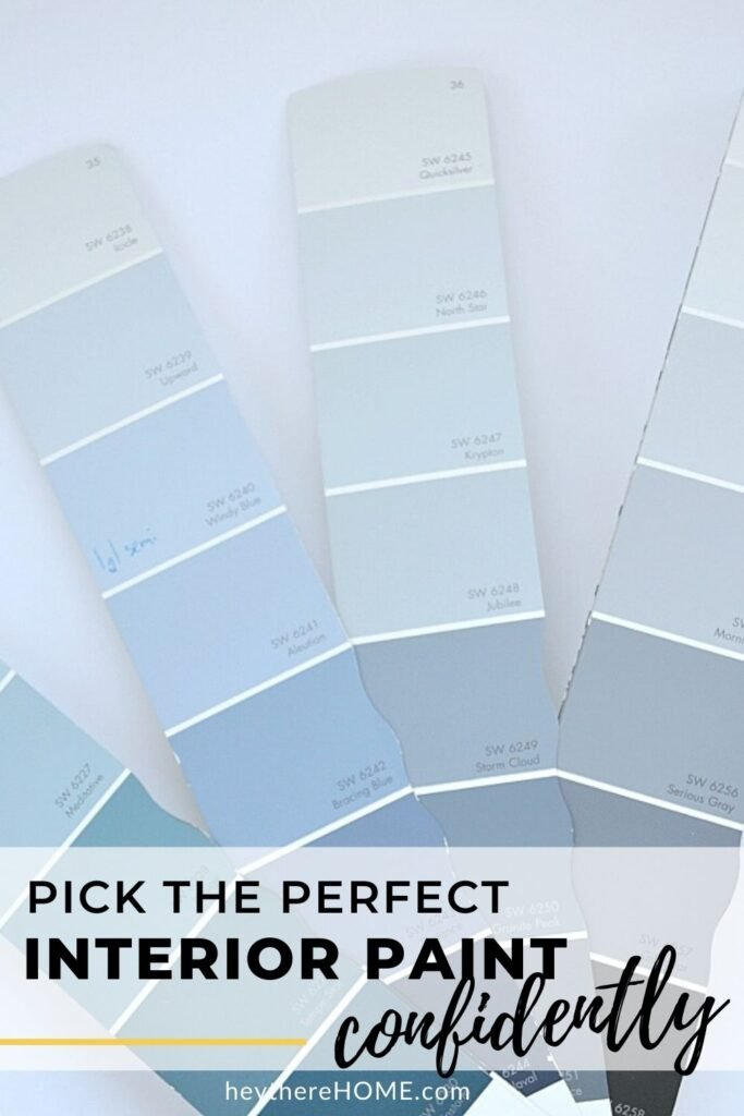 Pick perfect color paint confidently