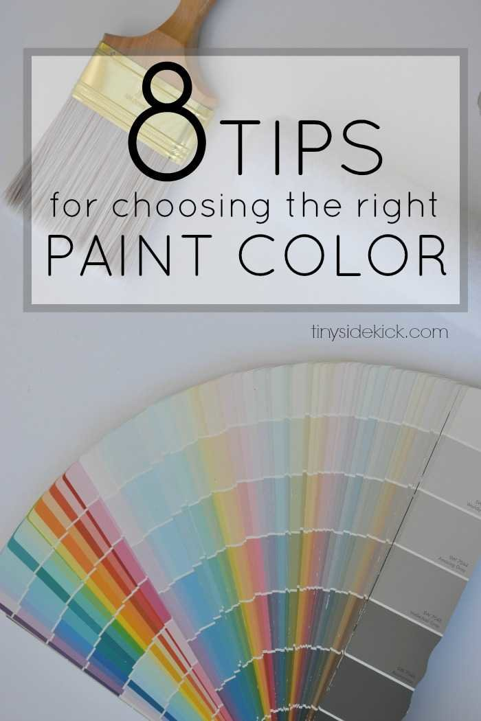 How To Choose A Paint Color 8 tips for choosing the right paint color