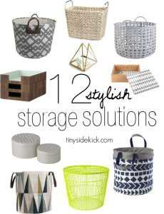 12 stylish storage solutions and where to buy them!