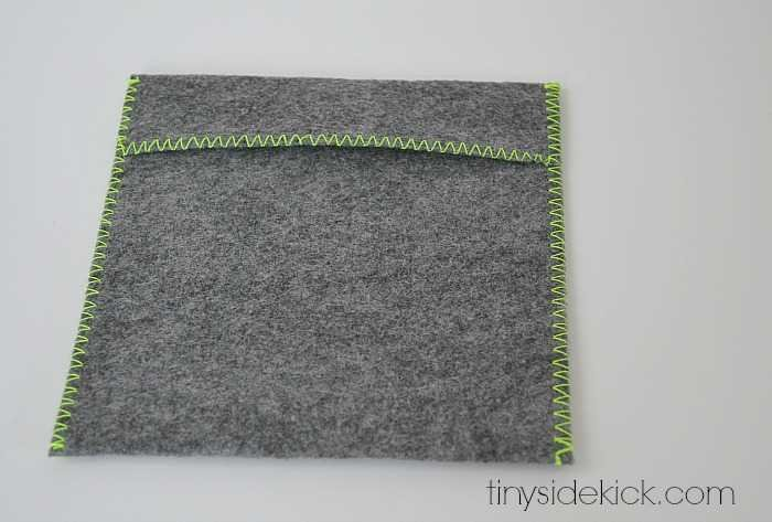 Felt jewelry pouches