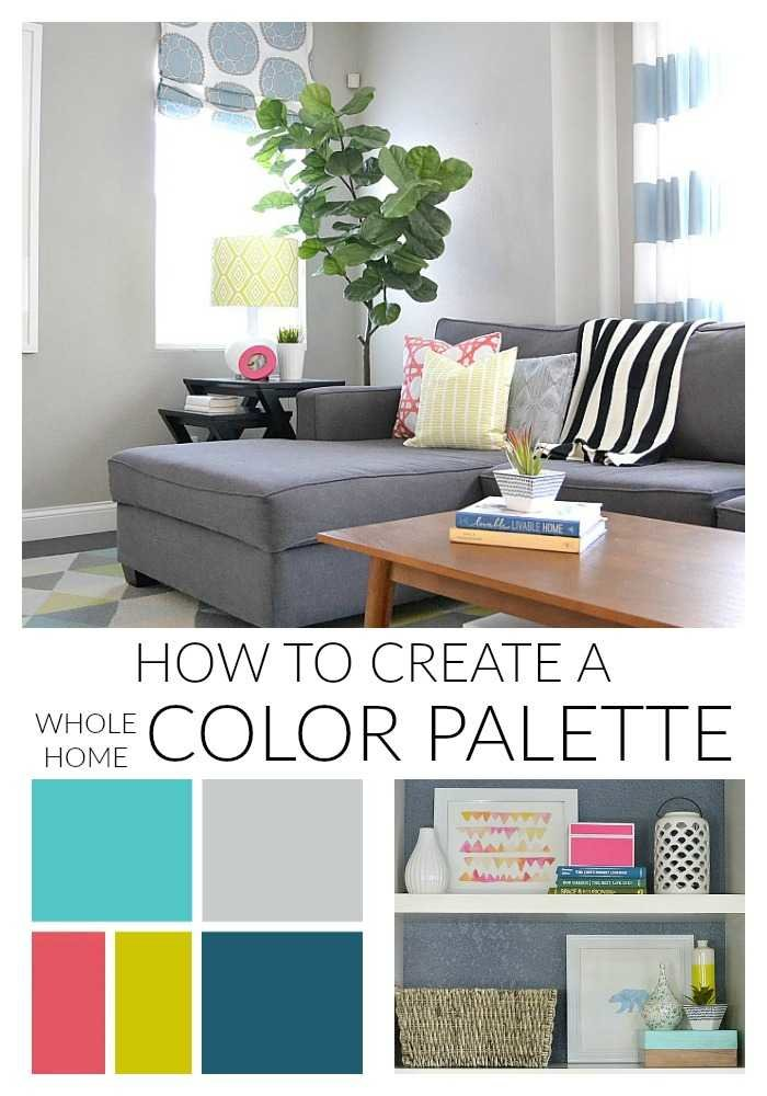 How To Create A Whole Home Color Palette Stunning Interior Home Color Combinations