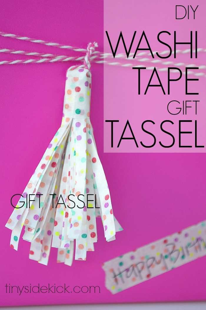 washi tape crafts, gift wrap ideas, gift topper, washi tape gift wrap