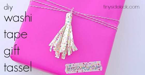 washi tape gift tassle FB