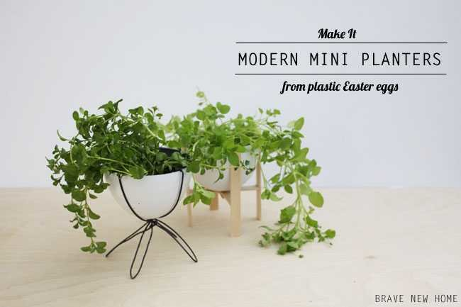 DIY-mini-bullet-planter-case-study-planter-plastic-easter-eggs
