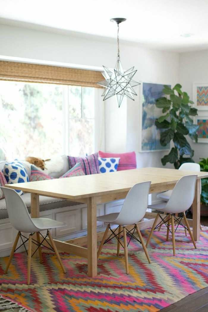 Get The Look Casual And Eclectic Dining Space