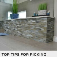 Top tips for picking bathroom tile