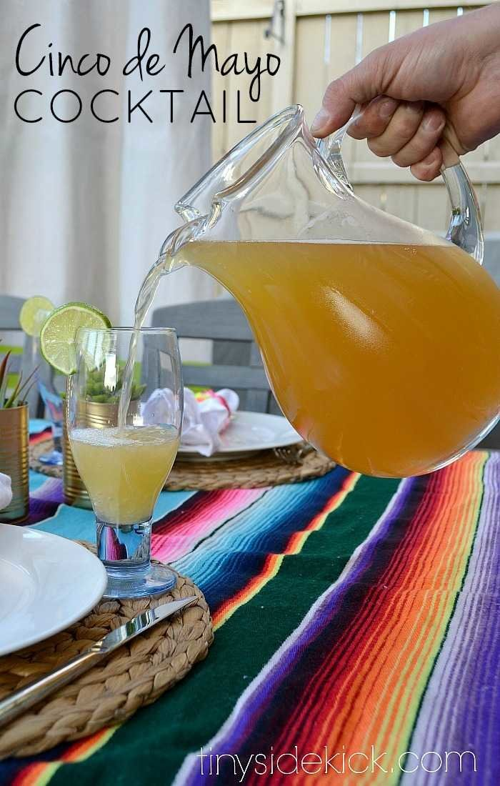 2 ingredient Beer cocktail recipe perfect for cinco de mayo